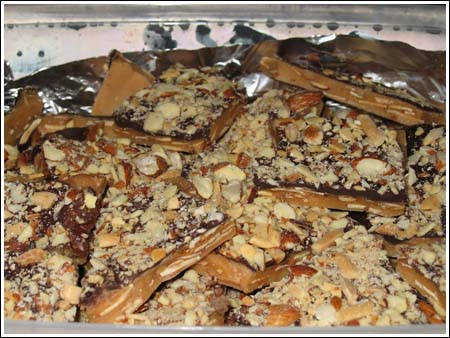 best ever almond toffee