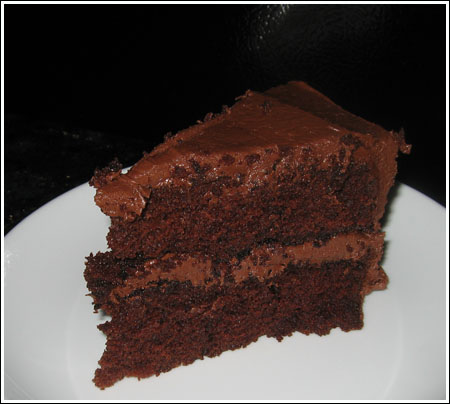 Pat's Chocolate Layer Cake - Cookie Madness