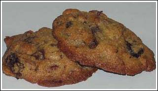 chocolate chip dried cherry cookies