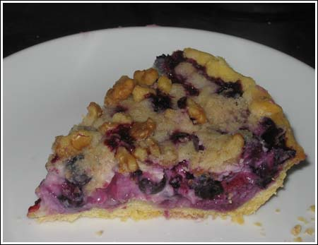 Blueberry Rhubarb Sour Cream Pie Recipes — Dishmaps