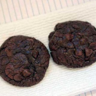 bittersweet chocolate cookies