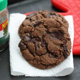 Giant Cappuccino Chocolate Chunk Cookies