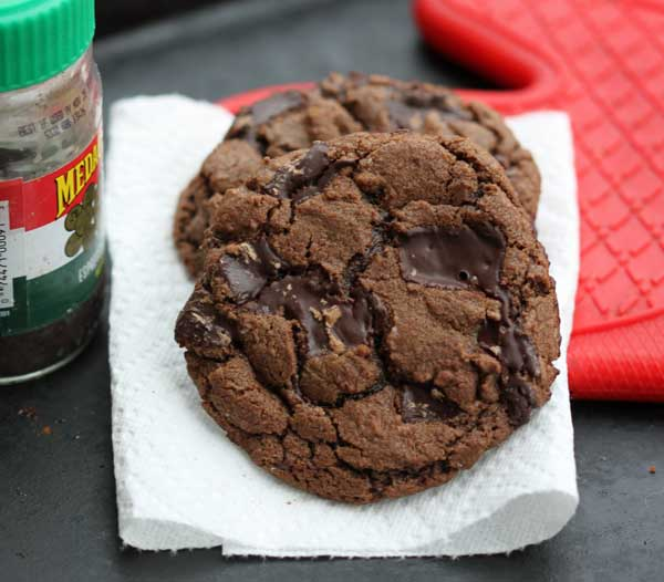 cappuccino chocolate chunk cookies