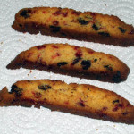 Strawberry Chocolate Chip Biscotti — Quick Version