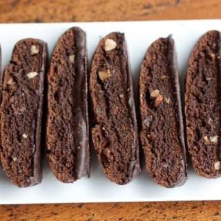 Double Chocolate Biscotti Recipe