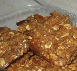 Low Carb Apple Oatmeal Bars