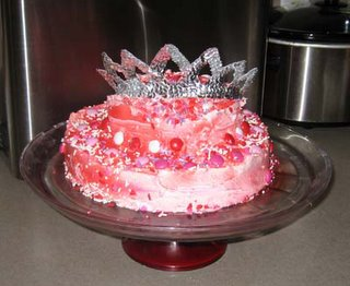 Pretty Princess Cake