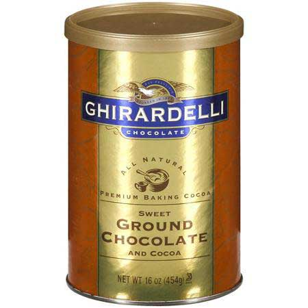 Ghirardelli chocolate powder