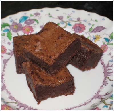 wasabi brownies