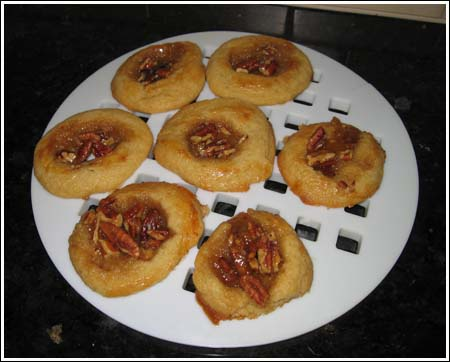 sticky bun cookies