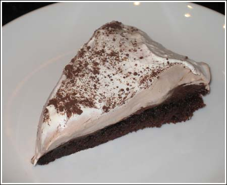 Bailey's Irish Cream Brownie Pie