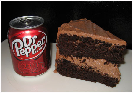 Dr Pepper Chocolate Layer Cake