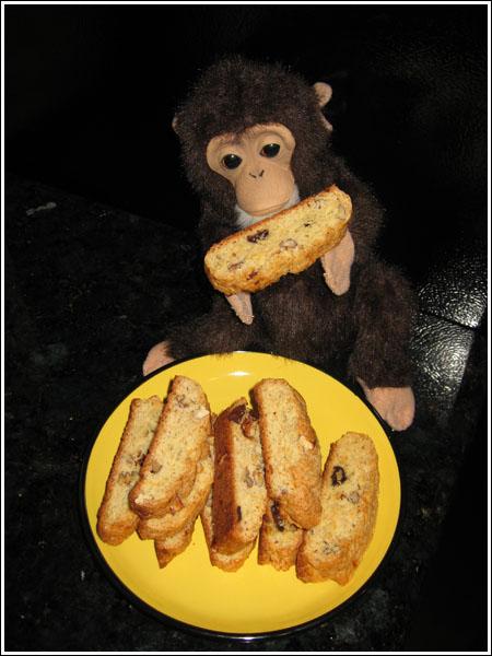 Banana Bread Biscotti