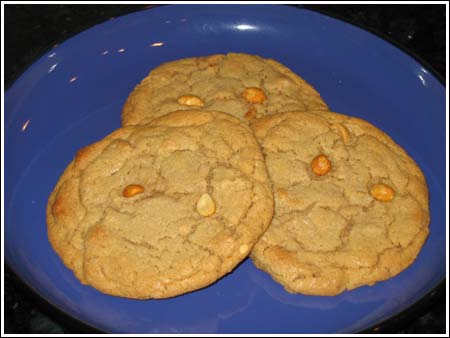 Texas Peanut Cookies