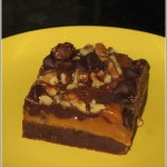 Caramel Filled Brownie
