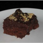 Brownie Mix Recipe for Truffle-Topped Brownies