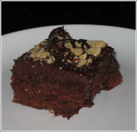 truffle-Topped brownies