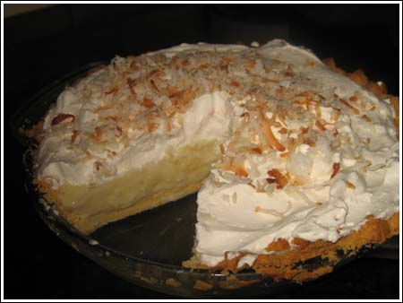 Basic Coconut Cream Pie