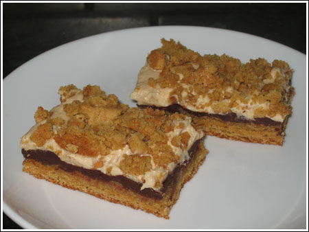 Peanut Butter Cream Cheese Bars