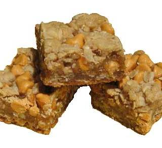 Butterscotch Oat Bars with Toasted Pecans