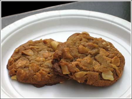 peanut butterscotch cookies