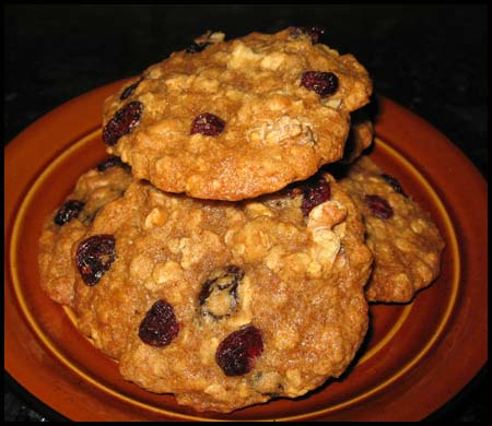 Big Fat Cranberry Oatmeal Cookie