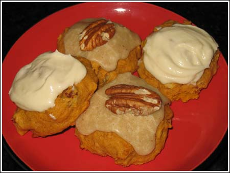 sue's pumpkin cookies