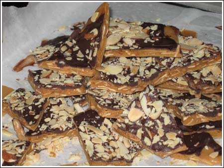 Best Ever Almond Toffee Revisited