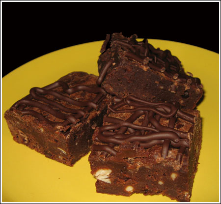 Feta Brownies