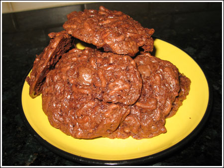 Fiber One Crunchy Fudge Cookies