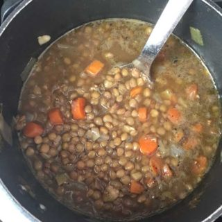 Fran Berman's Ginger and Lentil Soup
