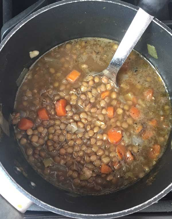 ginger and lentil soup