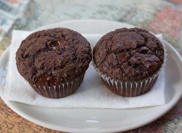 Chocolate Fiber Muffins