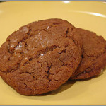 Small Batch Vegan Molasses Cookies