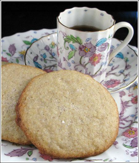 Crisp Chai Spiced Sugar Cookies