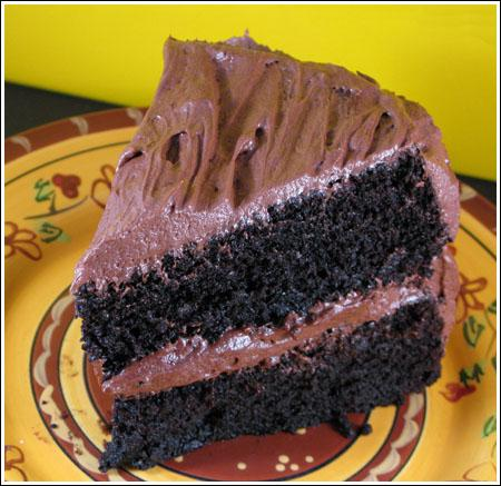 Chocolate Stout Layer Cake