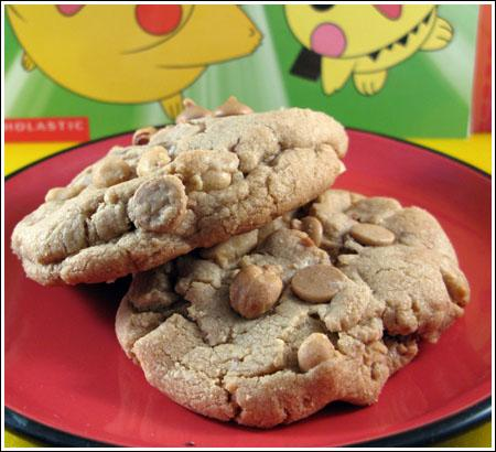 Giant Peanut Butter Cookies Two