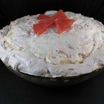 Grapefruit Coconut Angel Pie