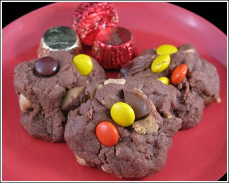 Lara's Double Chocolate Peanut Butter Cookies