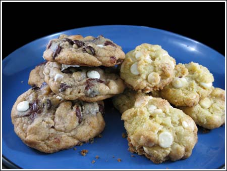 Double Chocolate White Chip Cookies