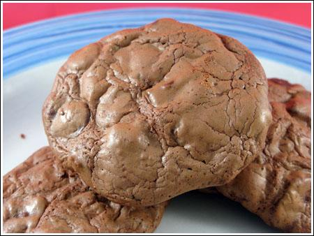 Small Batch Double Chocolate Cookies