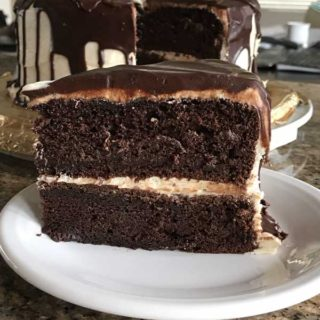 Chocolate Irish Cream Cake
