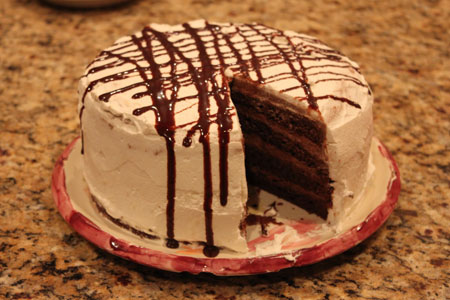 Irish Cream Chocolate Mousse Cake Recipes — Dishmaps