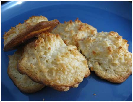 Ina's Chewy Coconut Macaroons