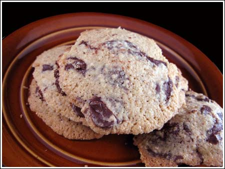 Matzo Meal Chocolate Chip Cookies