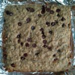 Banana Walnut Chocolate Chip Bars (Vegan Option)