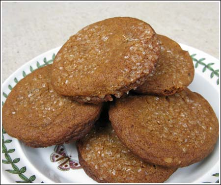 Ginger-Toffee Cookies