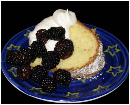 Black Pepper Pound Cake
