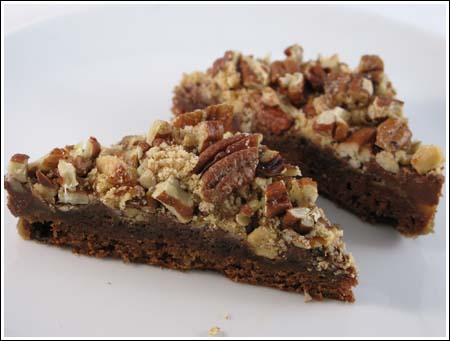double nut brownies
