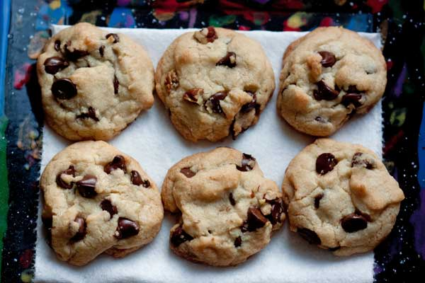 Crunchy Chocolate Chip Cookies Recipe - All Butter - Cookie Madness